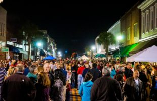 Beaufort's annual Night on the Town Celebration hists downtown on Friday December 2nd.  ESPB photo