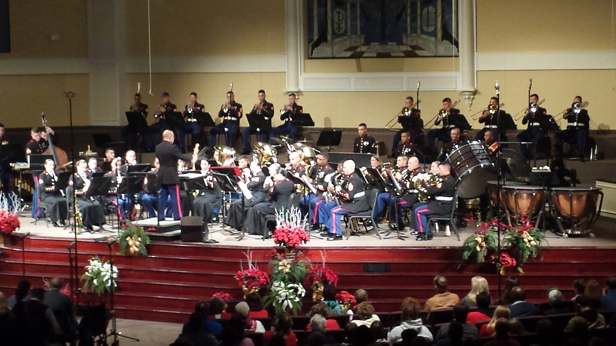 Catch the Parris Island Marine Band in the 8th Annual Lowcountry Christmas Concert on Sunday, December 18th at 7pm. Photo courtesy Layla Manning