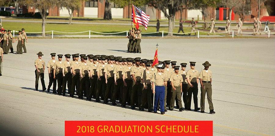 parris island graduation schedule