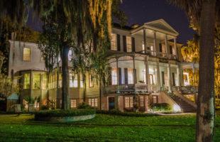 The historic Cuthbert House Inn.  Photo by Richard Kook