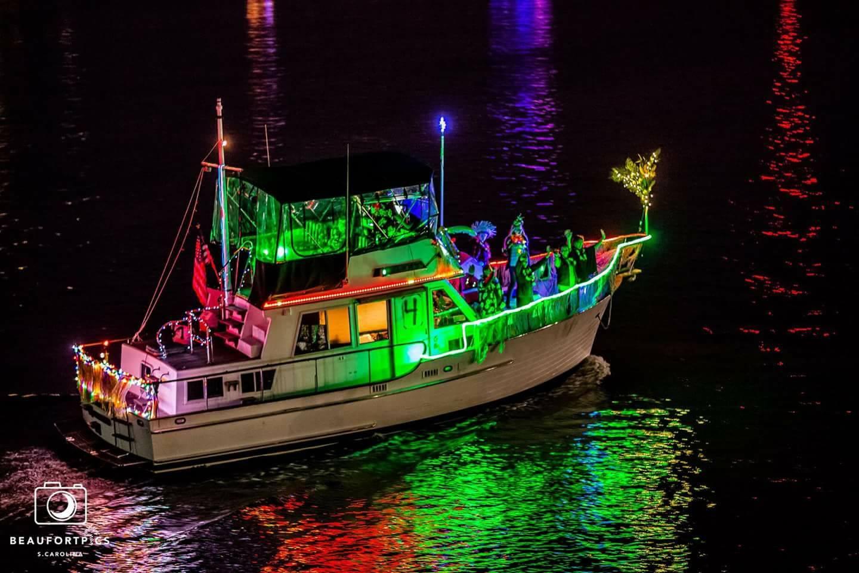 beaufort christmas boat parade