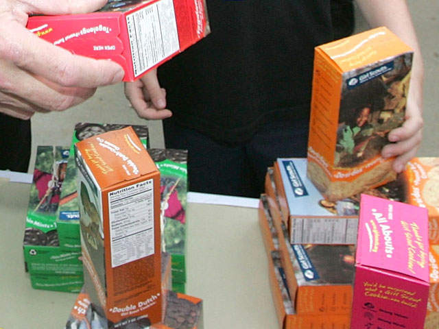 Since 1999, young ladies and their parents have sold over $800 million in Girl Scout cookies.