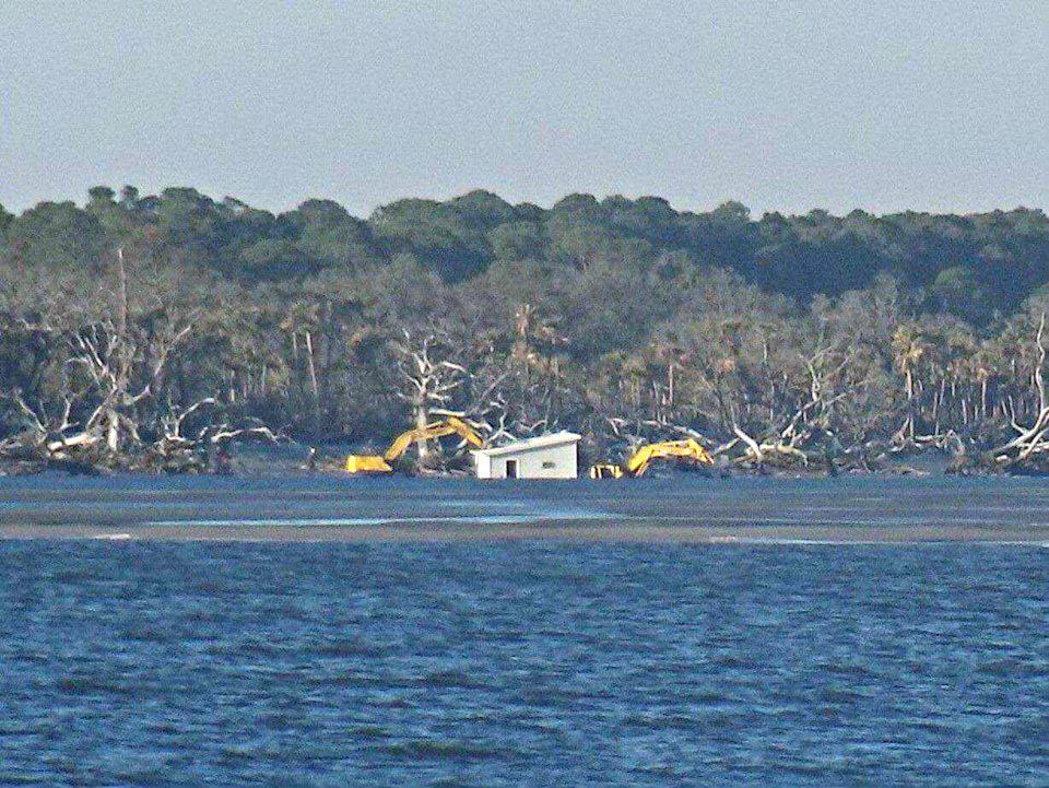 Last House Standing Hunting Island Sc