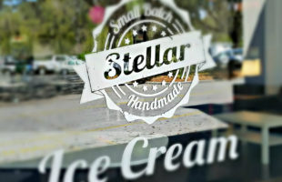 Stellar Ice Cream opened up at Lady's Island Shopping Center last weekend.  ESPB photo