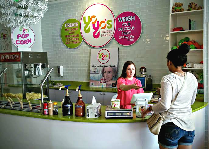 YoYo's has a frozen yogurt shop on Bay Street in downtown and an ice cream shop at Henry C. Chambers Waterfront Park.