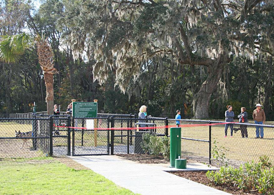 Another pet friendly spot is Southside Park in Mossy Oaks. ESPB photo