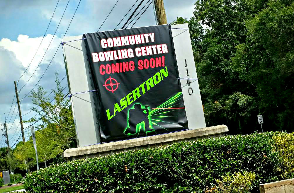The new Lasertron Laser Tag Center at the Community Bowling Alley on Ribaut Road opens up on June 24th.  ESPB photo