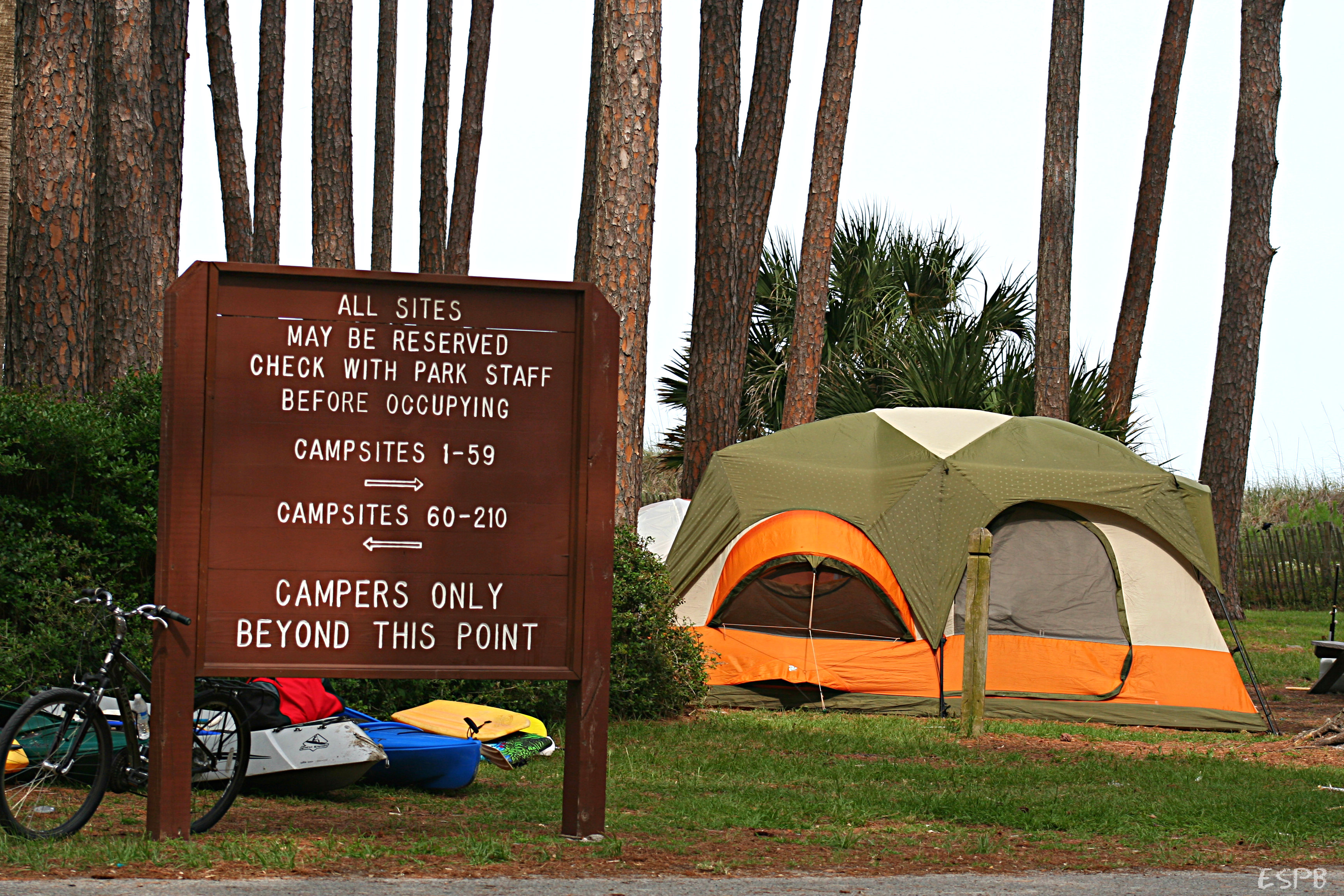 The Hunting Island Campground may be reopened by August 4th.  ESPB photo