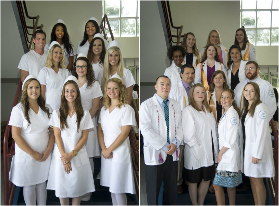 TCL honored 53 health sciences graduates at a ceremony ast Thursday.