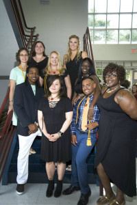 Nine Massage therapy students graduated from TCL last Thursday