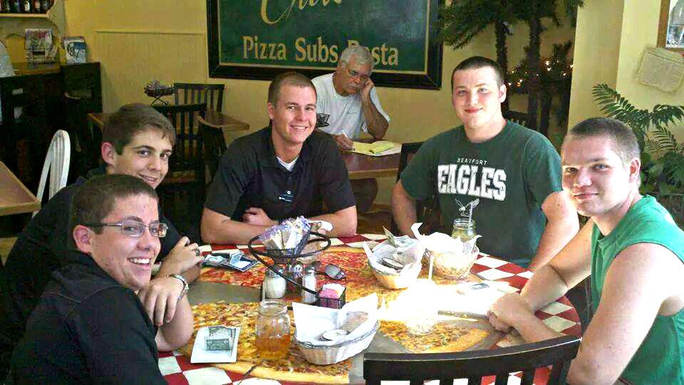 pizzeria student menu