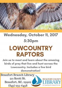 Lowcountry Raptors Program 101117