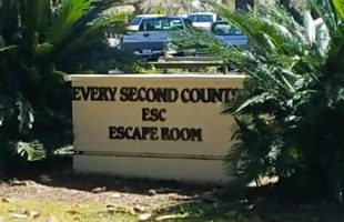 Beaufort's new escape room, Every Second Counts is now open for fun on Lady's Island.  ESPB photo