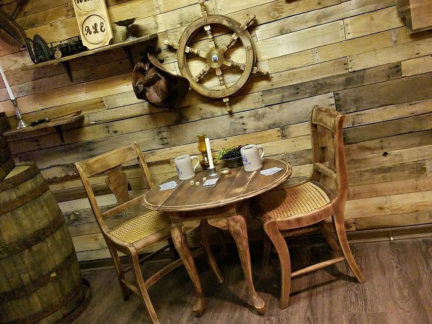 A glimpse inside Blackbeard Returns at the 1710 Tavern escape room. ESPB photo