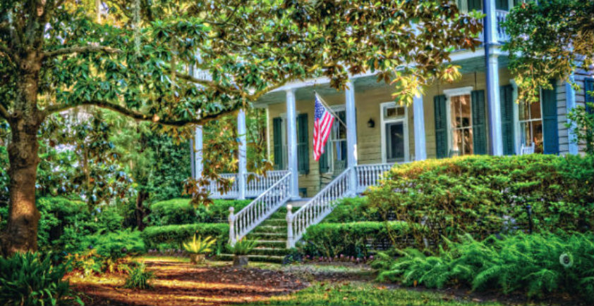 You can trespass legally every October during the Historic Beaufort Foundation's Fall Festival of Houses and Gardens.