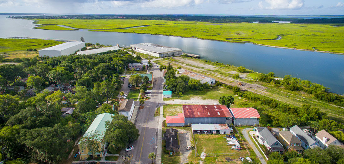 Buyers of the former port of Port Royal want their development to blend in with the rest of the historic Beaufort County town. Photo courtesy Post & Courier/CBRE Inc.