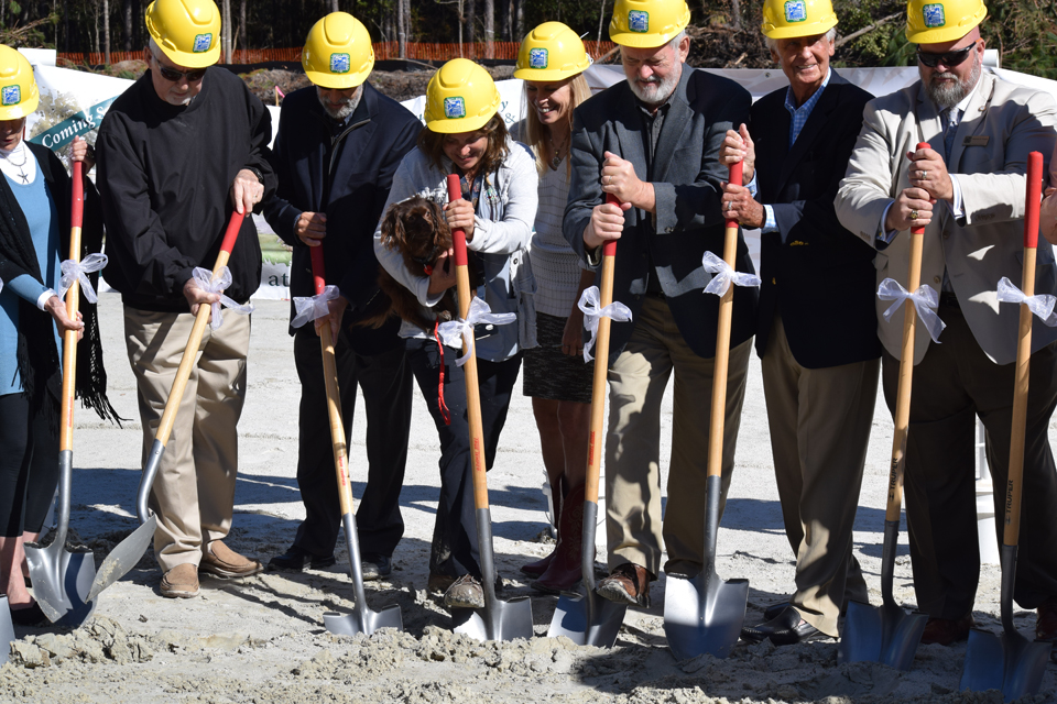 Groundbreaking ceremony held for new Beaufort County Animal Campus