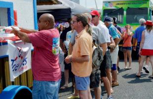 This Saturday's Beaufort Food Truck Festival boasts over a dozen food trucks.  ESPB photo