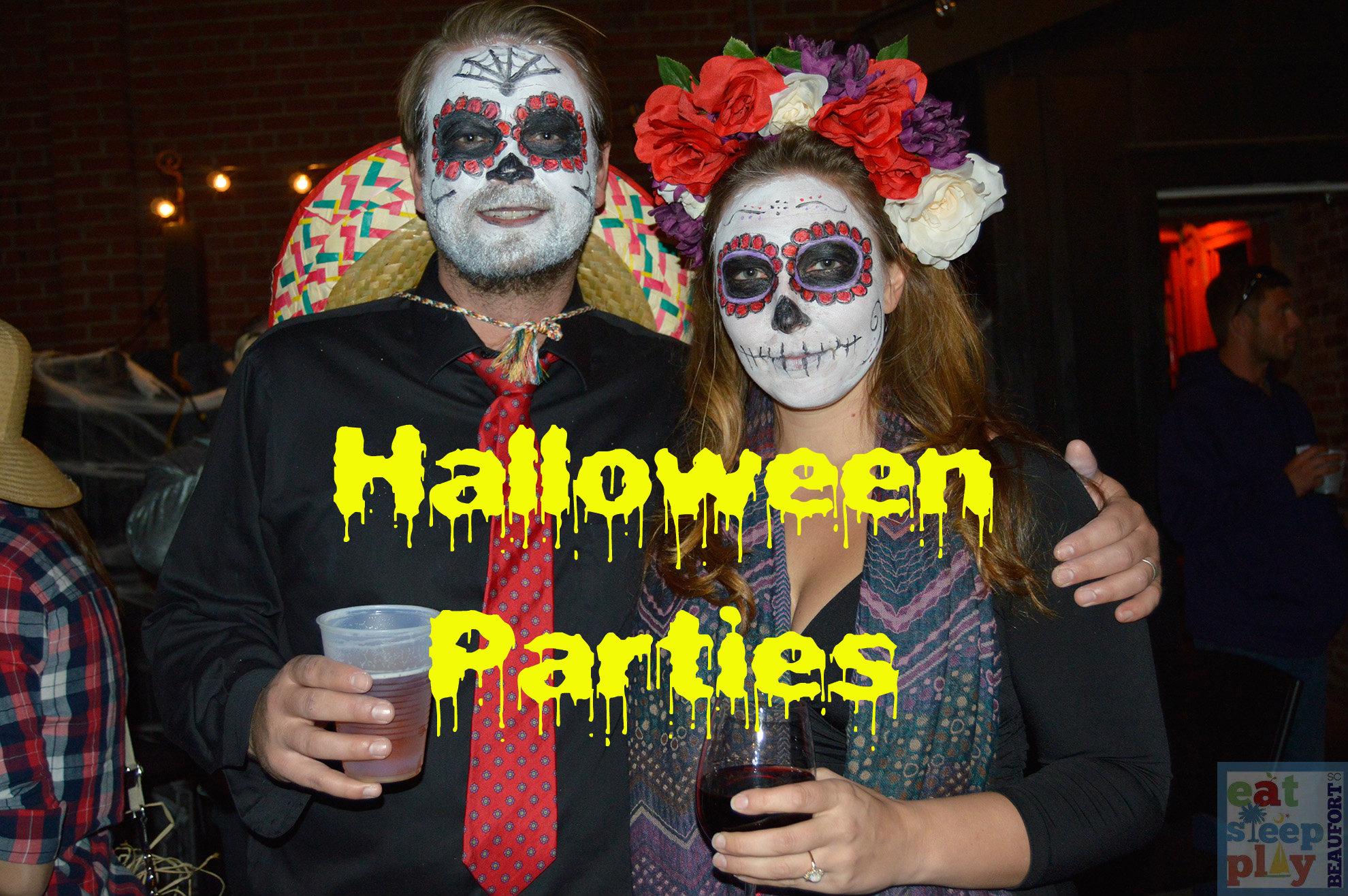 Halloween Costume Parties around Beaufort