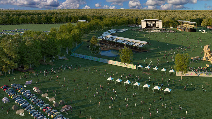 Concerts, drive-in movies and fun just up the road at Yonder Field