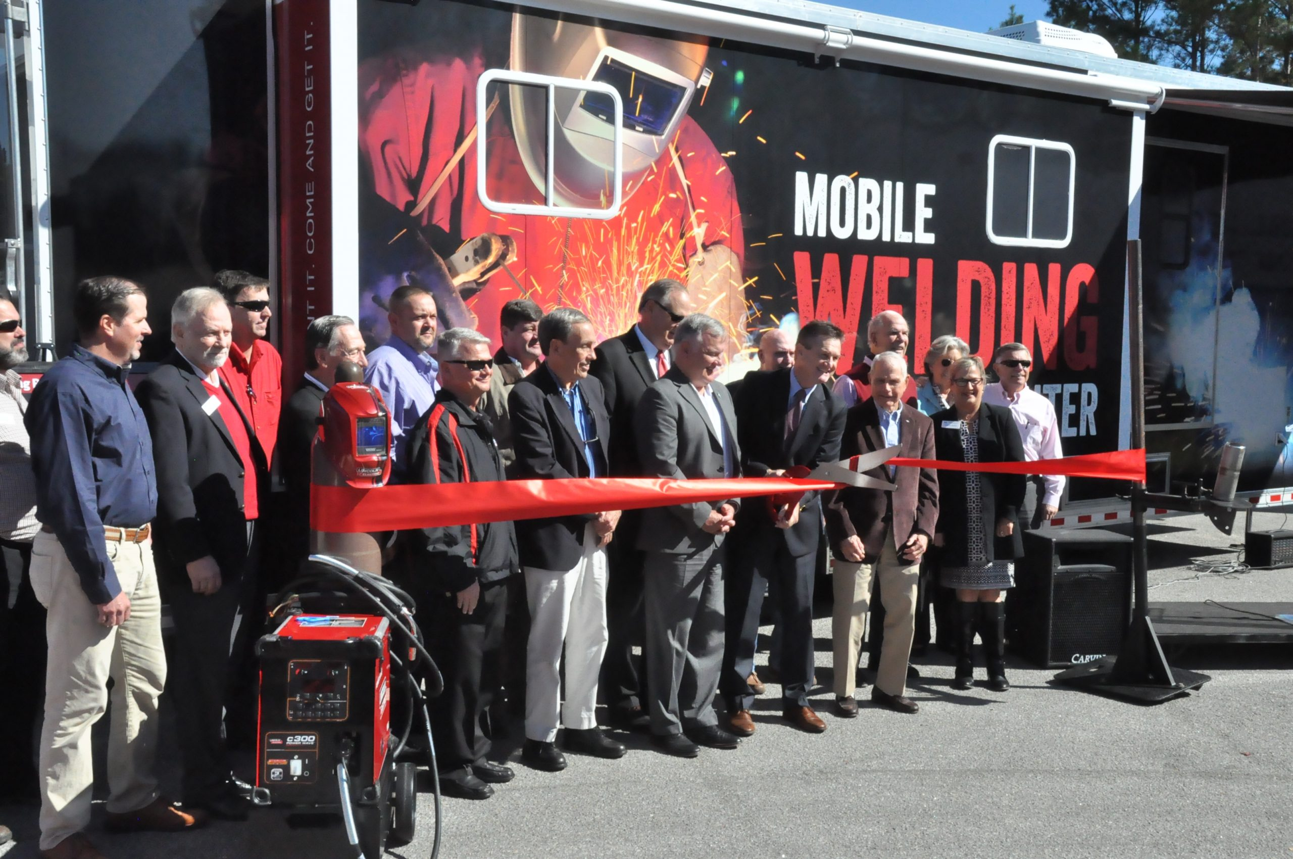 Technical College launches Mobile Welding Training Center and CDL program