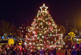 Downtown Beaufort Christmas Night on the Town