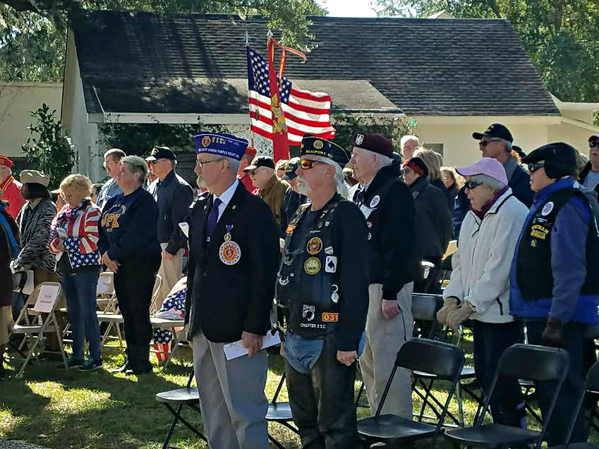 Beaufort celebrates Veterans Day