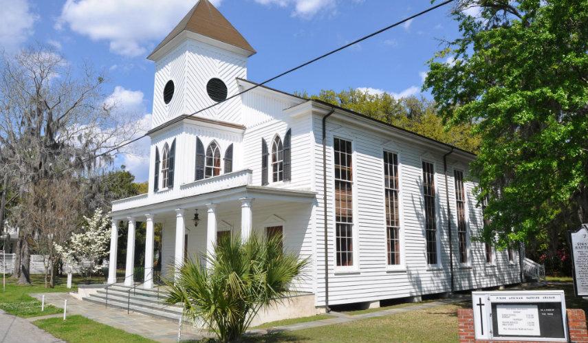 Historic Hallowed Ground: Beaufort's First African Baptist Church