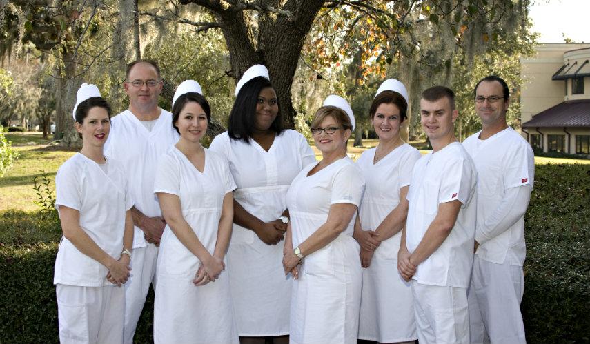 TCL honors eight more nursing program graduates