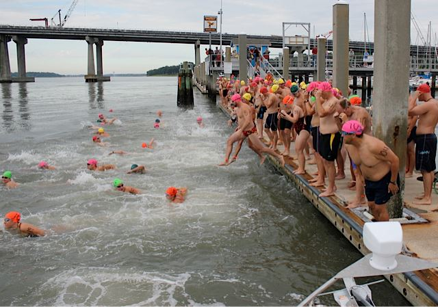 beaufort river swim