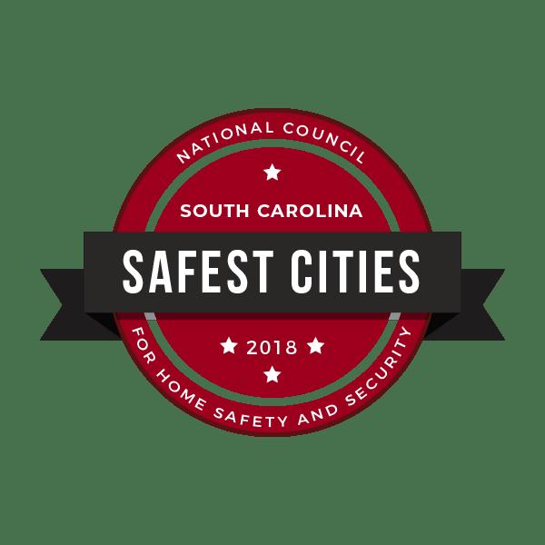 safest cities south carolina