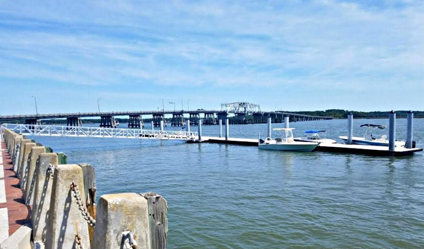 downtown beaufort day dock