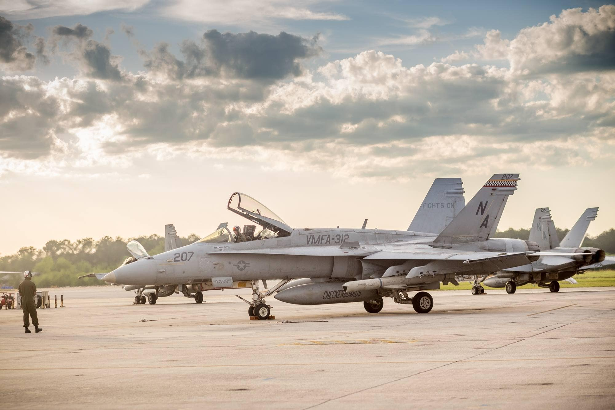 Welcome Home: VMFA-312 returns to MCAS Beaufort