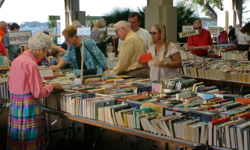 beaufort librry book sale