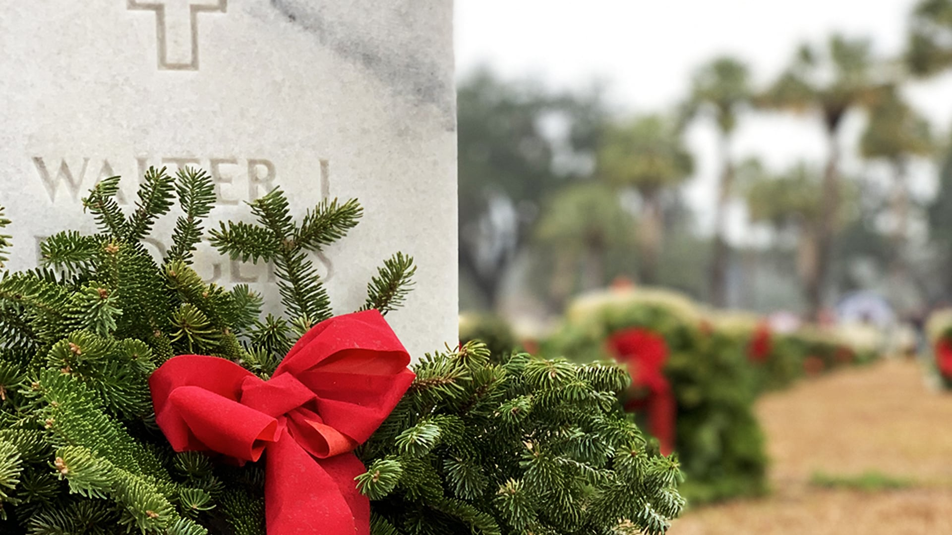 Honor a Veteran by Sponsoring a Wreath at Beaufort National Cemetery This Holiday