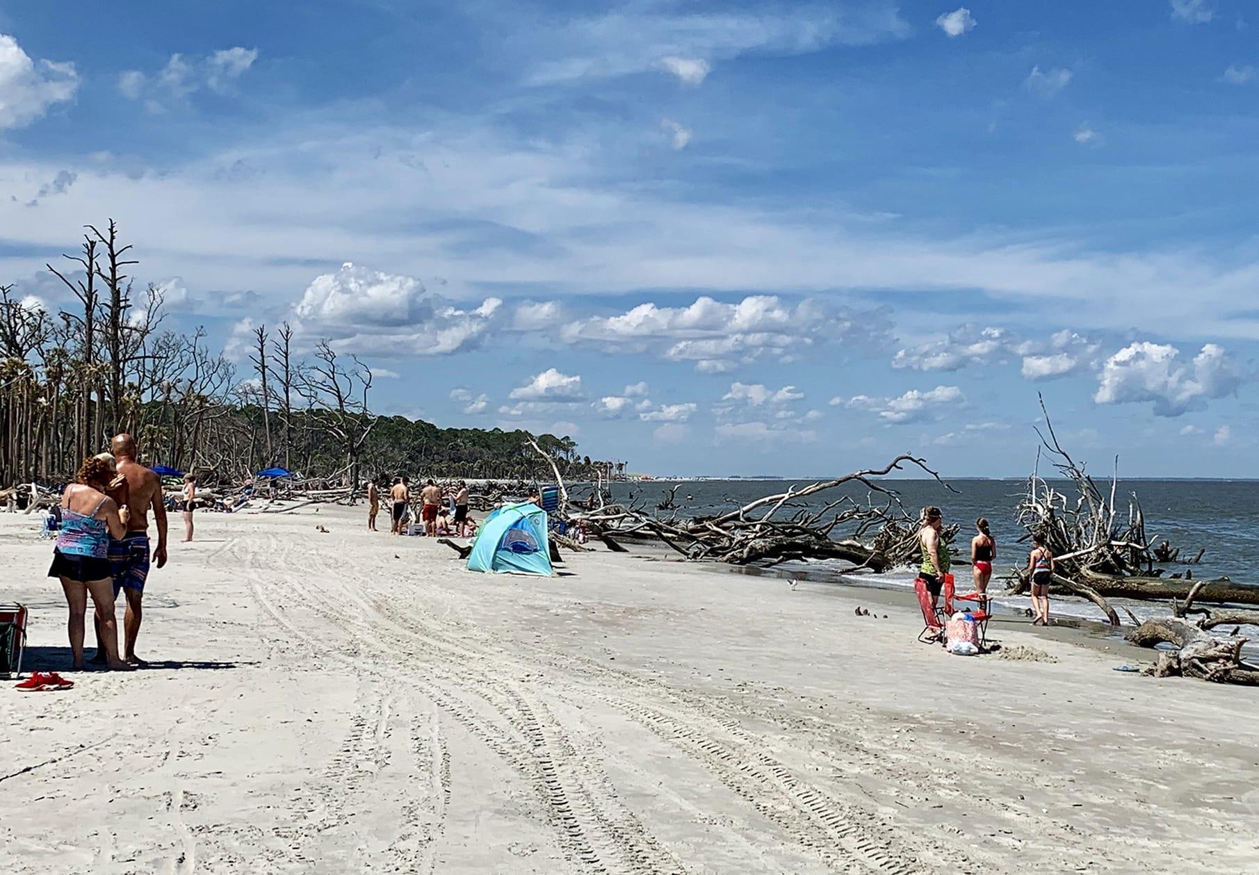 Hunting Island Beach Access Is Back