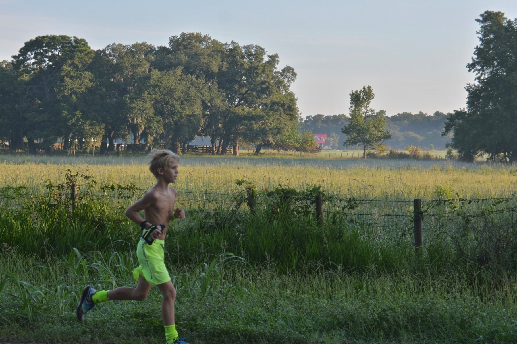 12 year old Gavin Moore wins the 2020 Cremator Ultra 50-Mile Endurance Race in Beaufort, SC