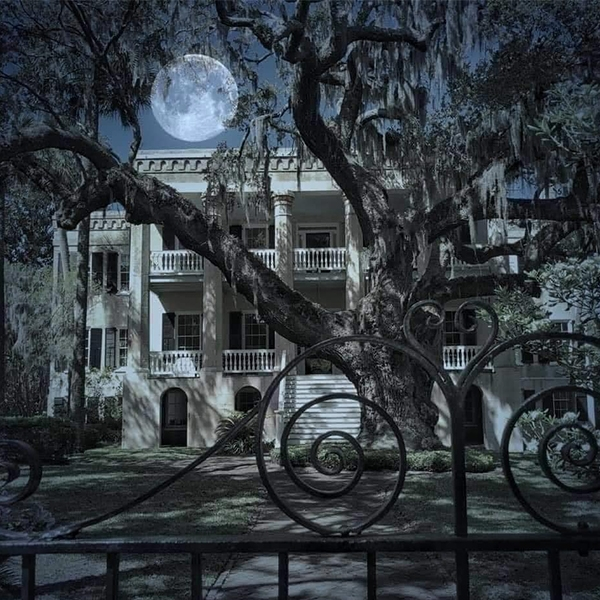 Full Moon Coming Halloween Night