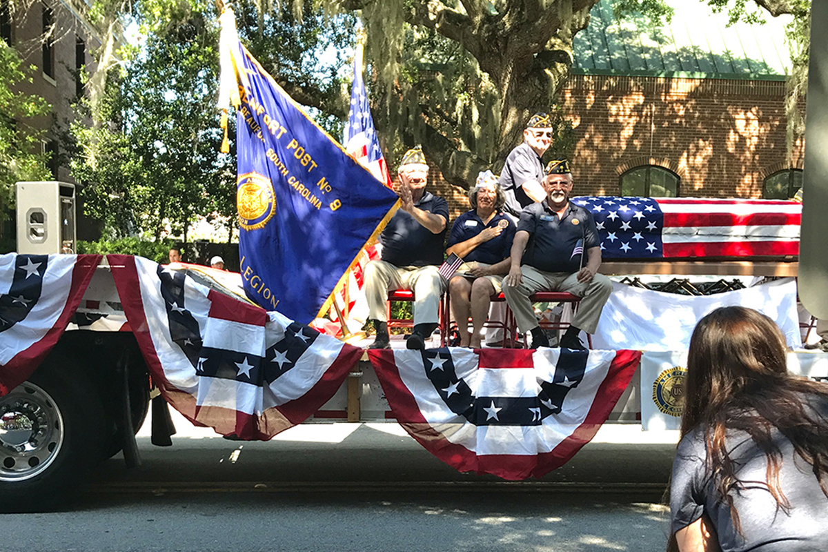Beaufort again named Most Patriotic City in South Carolina!