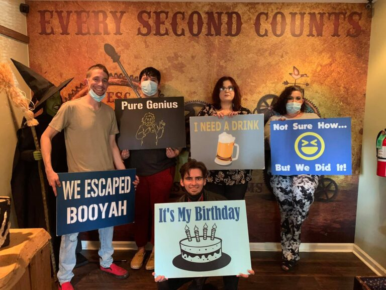 Every Second Counts Escape Rooms