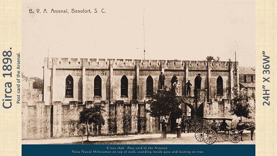 Beaufort History Museum Arsenal circa 1898