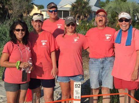harbor island sea turtle team feat