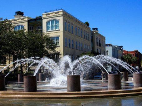Charleston-fountain