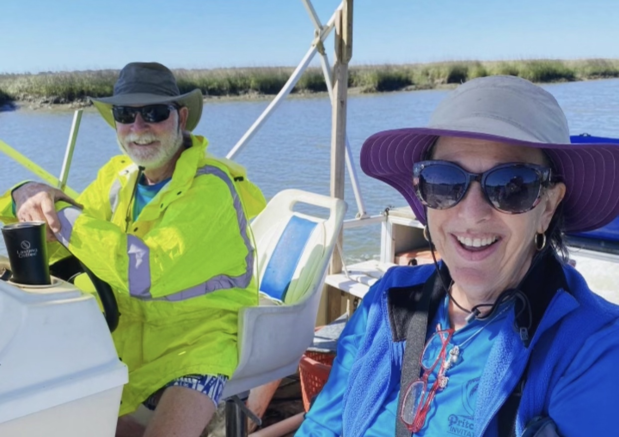 Robert and Abby Morris - Turtle Team Volunteers and Conservationist